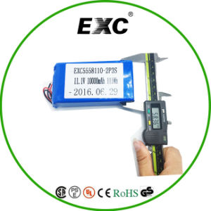 5558110 2p3s Lithium Polymer Battery Pack pictures & photos