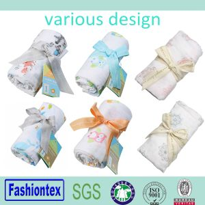 100% Cotton Blanket Baby Muslin Organic pictures & photos