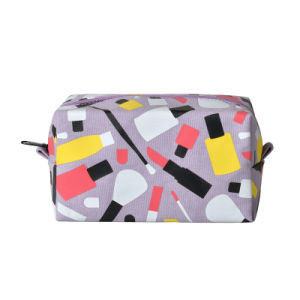 Cavas Coin Bag Pencil Case with Full Colors Logo pictures & photos