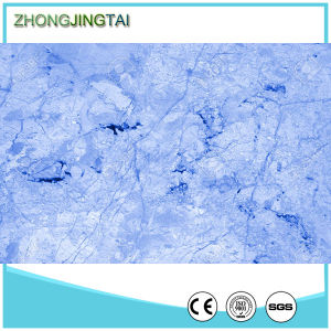 Honed Surface Artifical Granite Tiles Type Sapphire Blue Brown Countertop Material pictures & photos