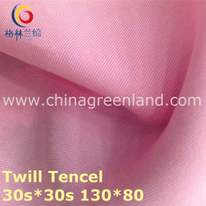 100% Tencel Twill Woven Fabric for Textile Garment (GLLML224) pictures & photos