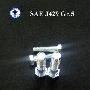 SAE J429 Gr. 5 Hex Cap Screws Cr+3