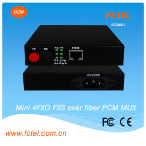 4*Pots Fiber Optical Multiplexer