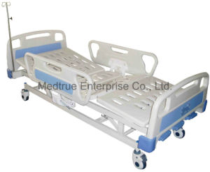 Ce/ISO Medical Five Function Electric Hospital Patient Bed (MT05083304) pictures & photos