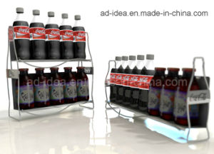 Counter Cola Display Stand/Metal Rack/Display Rack pictures & photos