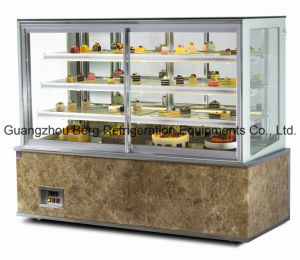 Refrigerated Cake Display Refrigerator with Ce pictures & photos