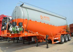Tri-Axle Dry Bulk Cement Powder Trailer