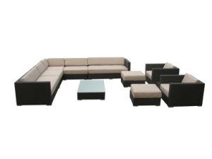 Home Furniture Rattan Outdoor Sofa