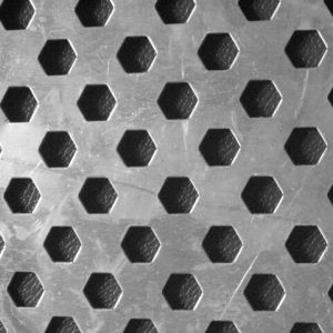 AISI201/304/316 Punched Perforated Stainless Steel Sheets
