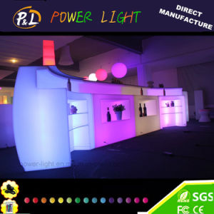 Party Event Decor LED Furniture Color Changing Glowing Bar Counter pictures & photos