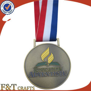Hot Sale Custom Funny Design Sport Award Metal Antique Medals (FTMD1508A) pictures & photos