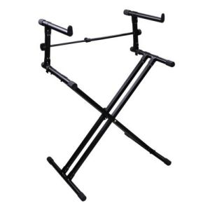 X Style Dual Keyboard Stand Electronic Piano Double 2-Tier Adjustable pictures & photos