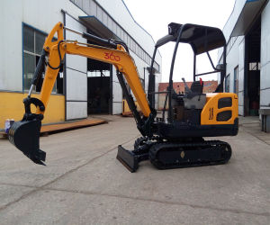 Euro Plant Equipment Ce Mini Small Excavator Digger for Agricultural Use pictures & photos