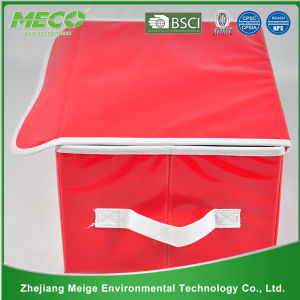 High Quality Fabric Foldable Living Box Home Storage Box (MECO411) pictures & photos
