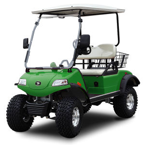 2-Seat Electric off-Road Hunting Cart with Basket pictures & photos
