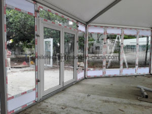 Luxury Aluminum Marquee Party Event Glass Octagonal Wedding Tent pictures & photos