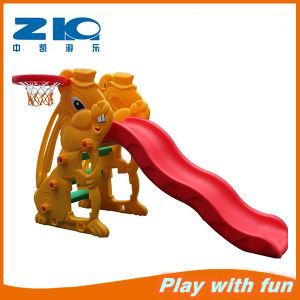 Rabbit Cheap Plastic Slide Children Playground for Kindergarten pictures & photos