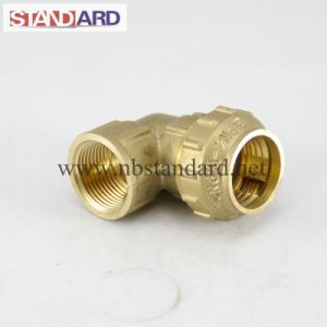 Brass PE Elbow with Female Thread pictures & photos