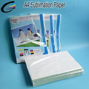 A4 Inkjet Printer Heat Transfer Sublimation Paper for Hat / Ceramics / Mugs / T-Shirts / Mouse pictures & photos