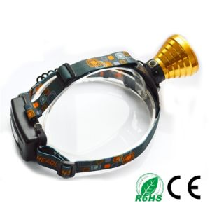 18650 Rechargeable Aluminum Alloy IP65 Camping CREE R5 10W LED Head Lamp pictures & photos