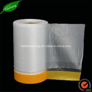 Car Painting HDPE Masking Film Speedy Masking Covering Film pictures & photos