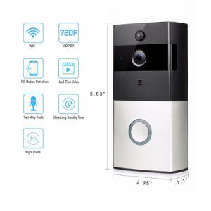 Home Security Intercom PIR Detection Ring Smart Dingdong Doorbell WiFi pictures & photos