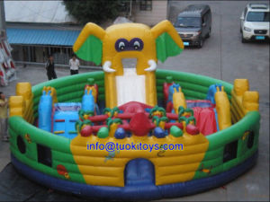 Lovely Toy Closed Inflatable Jumping Trampolines (CIT) (B034) pictures & photos