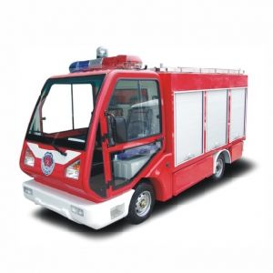 Electric Fire Truck, 1.3 M3 Water Tank, for Fire Fighting in Closed Area, Eg6040f pictures & photos