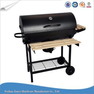 Classic Black Barbecue Large Barrel Charcoal BBQ Grill
