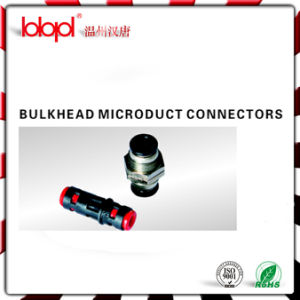 Straight Bulkhead Microduct Connector STB5/3.5mm pictures & photos