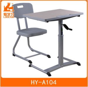 Standard School Adjustable Chair Desk of Classroom Furniture pictures & photos