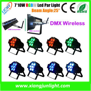 7 X 10W Mini LED PAR for Disco and DJ Lighting LED PAR Can pictures & photos
