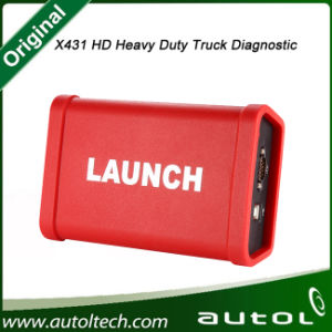 Launch X431 Heavy Duty Truck Launch X431 HD Scanner Work with X431 V+/X431 PRO3/X431 Pad II Can Do 12V/24V Cars pictures & photos