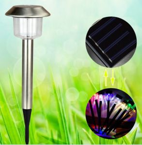 Wholesale Stainless Steel Solar Lawn Lamp, Garden Lights Garden Lights Light Outdoor Decorative Lamp Plug in Lights pictures & photos