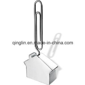 House Shape Paper Clip Style Name Card Clip/Photo Clip pictures & photos