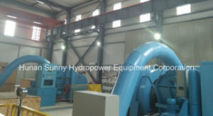 Small Pelton Hydro (water) Turbine-Generator Sf1000 High Voltage 6.3kv / Hydropower/ Hydroturbine pictures & photos