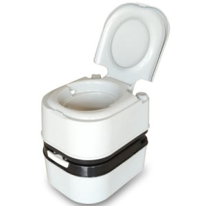 10L 12L 20L 24L Plastic Portable Toilet Outdoor Mobile Toilet pictures & photos