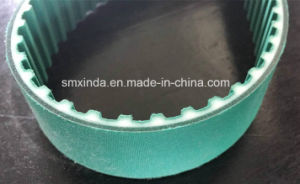 Double Sided Coating PU Open Timing Belt pictures & photos