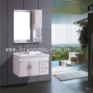 PVC Bathroom Cabinet/PVC Bathroom Vanity (KD-549) pictures & photos