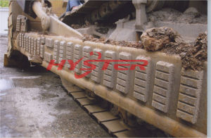 Bimetallic Cast Iron Chocky Bars on Dozer pictures & photos