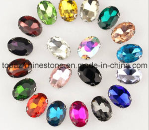 Fashion Rhinestone in Sew on Setting for Garment Accessories (SW-square/8*8mm) pictures & photos