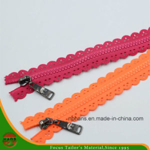 5# Non-Lock Closed-End Plastic Zipper (HAZR0003) pictures & photos