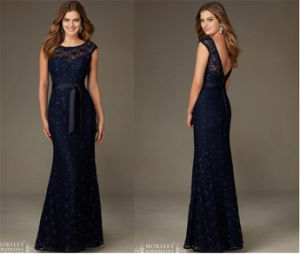 Ladies Black Mermaid Wedding Bridesmaid Dress, Party Evening Dress pictures & photos