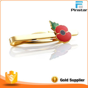 Custom Poppy Accessory Gold Metal Tie Bar pictures & photos