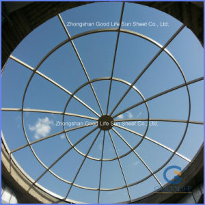 Clay Plain Transparent Plastic Roof pictures & photos