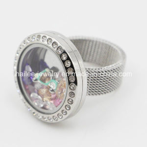 New Arrival Stainless Steel Ring with Locket pictures & photos