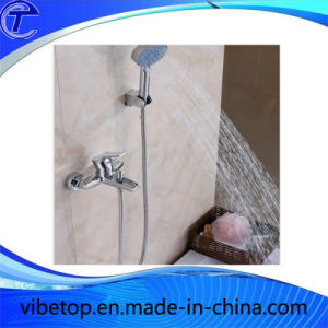 Surface Mounted Polished Chrome Hand Shower Set pictures & photos