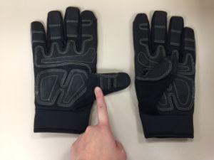 PVC Glove-Reinforce Palm Glove-Mechanic Glove-Industrial Glove-Labor Glove-Work Glove pictures & photos