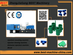 Plastic PVC Pipe Fitting Injection Molding Machine pictures & photos