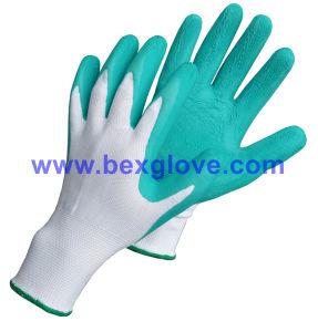 Color Garden Work Glove, 13 Guage Nylon Work Glove pictures & photos